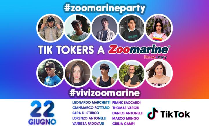 Tik Tokers a Zoomarine